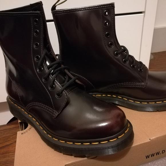 fbcb71935a0e0 Dr. Marten 1460 8-eye Cherry Red Arcadia Boots